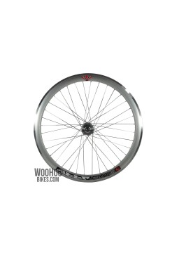 JOYTECH Wheels 43mm Fixed Gear, Fix, Silver