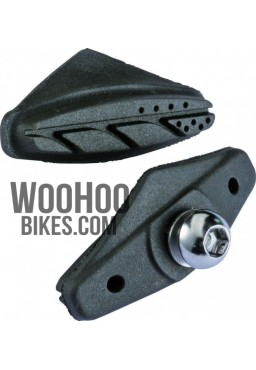 Accent AC-120 road bicycle brake pads - black