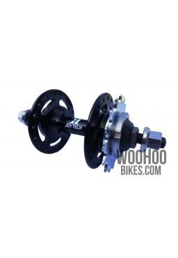 JOYTECH A566DSE Fixed Gear, Track Rear Hub, 32H Black