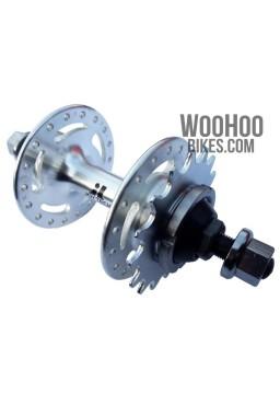 JOYTECH A566DSE Fixed Gear, Track Rear Hub, 32H Silver