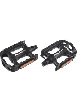 ACCENT Range MTB, Treking Black Pedals