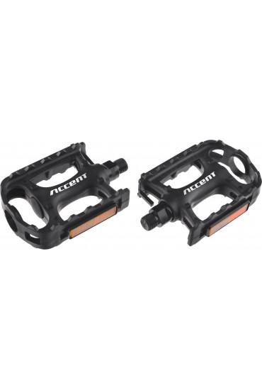 ACCENT Range MTB, Treking Black Pedals