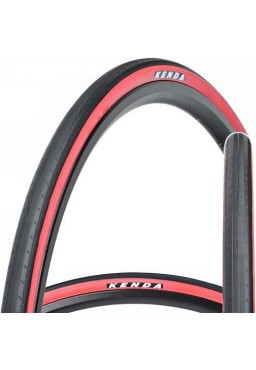Kenda KONCEPT 700 x 23C Tire Black & Red