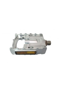 MKS FD-7 Folding Pedals, 9/16'' Silver