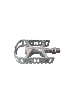 MKS Mikashima UB-Lite Silver 9/16'' Cycling Pedal