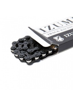 "IZUMI X MASH JET BLACK 1/2"" x 1/8"" Black/Silver 116L"