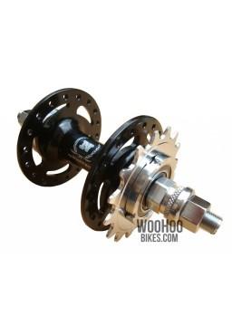 NOVATEC Rear Hub, Freewheel, Fixed Gear/Single Speed 28H Black