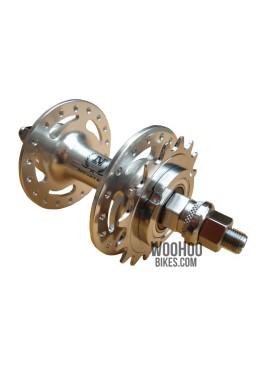 NOVATEC Rear Hub, Freewheel, Fixed Gear/Single Speed 32H Silver