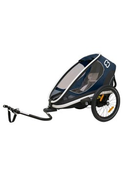 Hamax Outback One Bicycle Trailer - Navy Blue