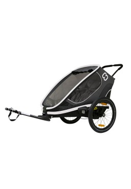 Hamax Outback 2in1 Bicycle Trailer - Grey