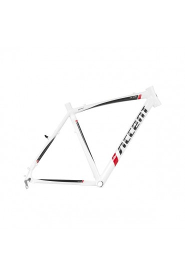 ACCENT CX-ONE Cyclocross Bike Frame white-graphite Size M (54cm)
