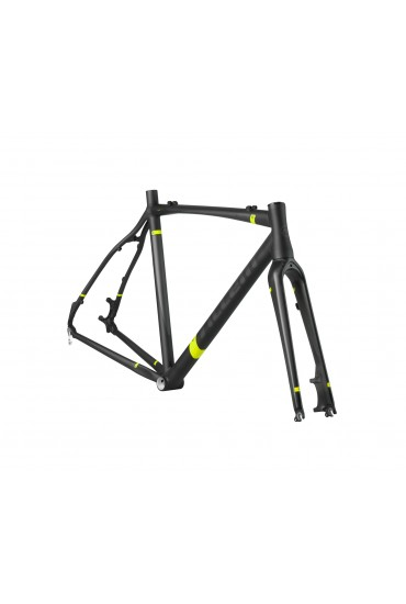 ACCENT ACCENT CX-ONE PRO DISC SET Cyclocross Bike Frame black-red Size XL (54cm)