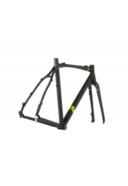 ACCENT ACCENT CX-ONE PRO DISC SET Cyclocross Bike Frame black-red Size XL (58cm)