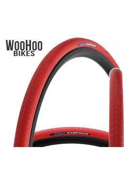 Kenda KAMPAIGN 700 x 23C Fixed Gear Tire Red
