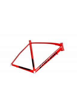ACCENT DRAFT Road Bike Frame red-black Size XS (50cm)