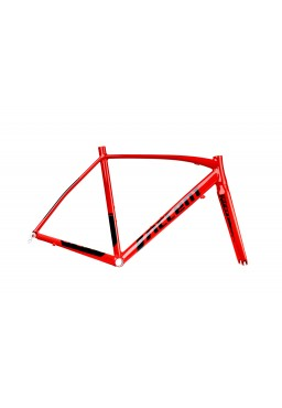 ACCENT DRAFT Road Bike Frame Set red-black Size XS (50cm)
