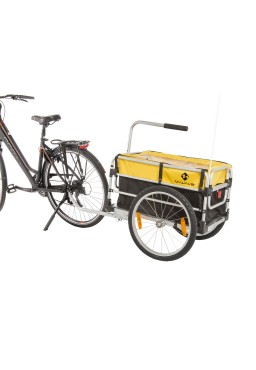 M-Wave Stalwart Carry Fold 1 Luggage Bicycle Trailer