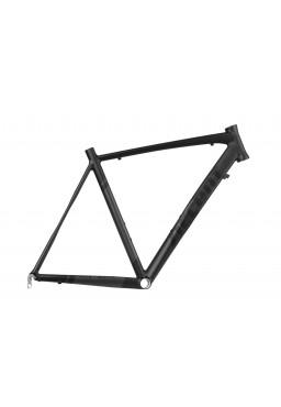ACCENT APEX Road Bike Frame black-grey mat Size XL (58cm)