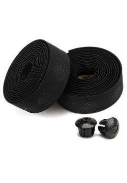 CINELLI Cork Gel Ribbon Bicycle Handlebar Tape Black