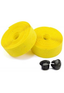 CINELLI Cork Gel Ribbon Bicycle Handlebar Tape Yellow