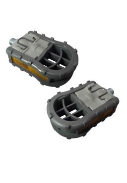 MKS FD-5 Folding Pedals, 9/16'' Gray