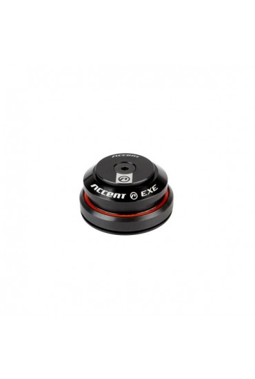 """ACCENT HI-EXE Bicycle Integrated Headset 1-1/8""""-1.1/4"""" IS42/IS47 Black"""