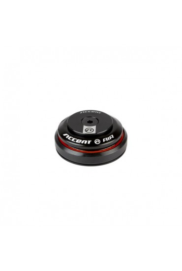 """ACCENT HI-AIR Bicycle Integrated Headset 1-1/8"""" Black"""