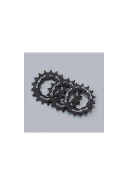 SUGINO 18T Track Cog, Fixed Gear Bike Hub Sprocket, Black