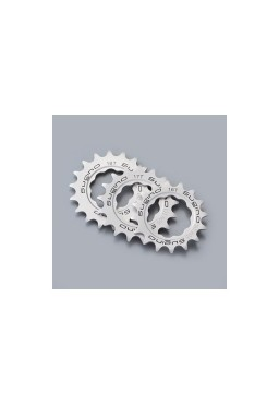 SUGINO 18T Track Cog, Fixed Gear Bike Hub Sprocket, Silver