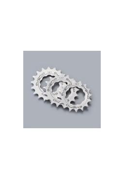 SUGINO 16T Track Cog, Fixed Gear Bike Hub Sprocket, Silver