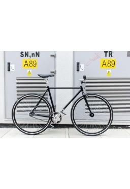 "Woo Hoo Bikes - Classic Black 19"" - Single Speed Bicycle"