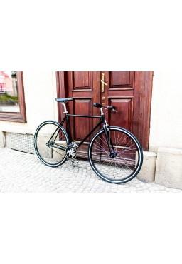 """Woo Hoo Bikes - Classic Black 22"""" - Fixed Gear Track Bicycle"""