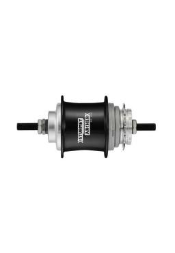 STURMEY ARCHER S3X 3- Speed, Black Fixed Gear Hub, 130mm, 36H