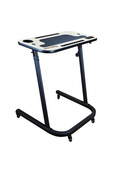 Height Adjustable Indoor Cycle Smart Trainer Table Desk with Wheels, USB and 220V