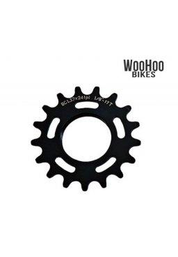 Dia-Compe Fixed Gear Track Cog, 17T - Black