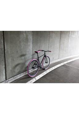 "Woo Hoo Bikes - PINK, 19"" - Fixed Gear Track Bicycle"