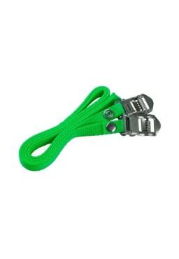 ACCENT AC-STRAP Toe Clip Pedal Straps - Green