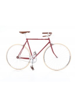 "Cheetah Prey – Cafe Racer 23"" Cherry Bicycle"