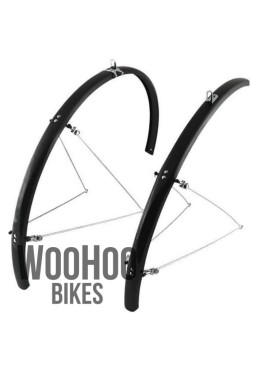 Orion WLD-28 Road Bike Fenders, Black