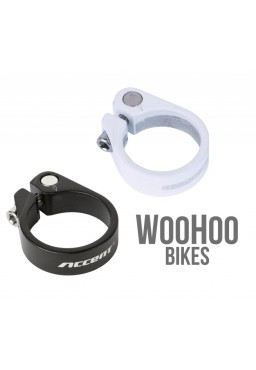 ACCENT LIGHT Seat Post Clamp 34.9mm White