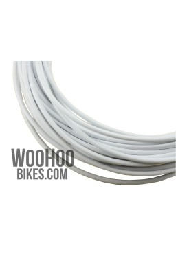 ALHONGA Brake Cable Housing Teflon White