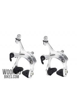ALHONGA HJ-422ADQ Road, Fixie Bike Brake Set Calipers - Silver