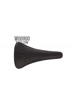 Selle San Marco Concor Supercorsa, Black Rino Leather, Road Black Bicycle Saddle