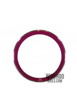 "Rim 28"" 700C 36H 50mm Fixed Gear Purple"