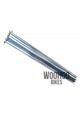 Pillar 260mm Stainless Steel Spokes, Silver 18pcs.
