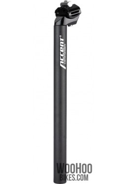 ACCENT SP-252 Bicycle Seatpost 28.6mm Black