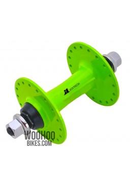JOYTECH Front Hub, Fixed Gear, Road Bike, Track 36H Green