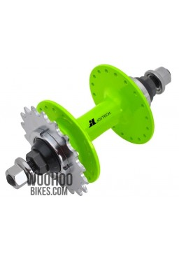JOYTECH Rear Hub, Fixed Gear, Road Bike, Track 36H Green