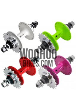 JOYTECH Rear Hub, Fixed Gear, Road Bike, Track 36H White