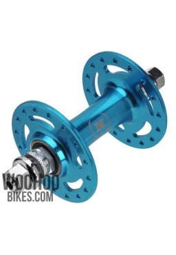 NOVATEC A165SBT Front Hub, Fixed Gear, Road Bike 32H Blue